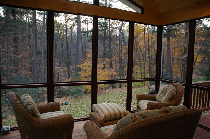Windsor CT Brazilian hardwood porch Ipe Archadeck