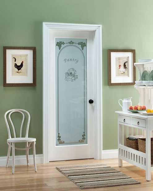 Feather River Doors 24 In. Pantry Smooth 1 Lite Primed MDF Interior Door    The Home Depot