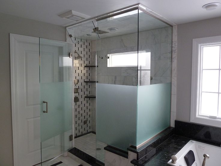 frosted glass shower - photo #13