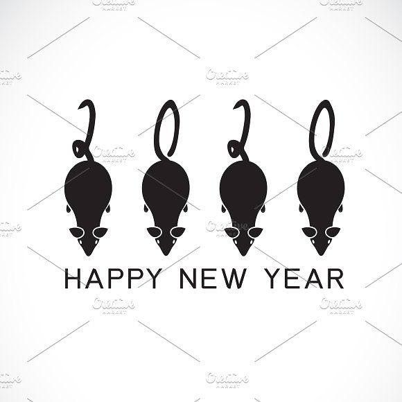 2020 Happy New Year Greeting Card Happy New Year Cards New Year Greeting Cards New Year Greetings