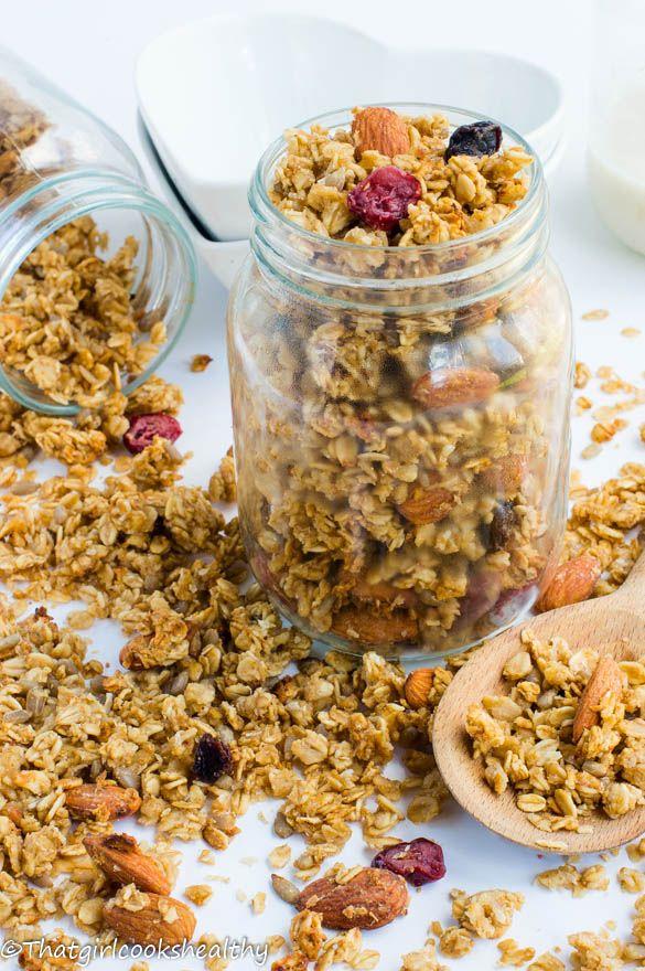 how to make homemade granola cereal