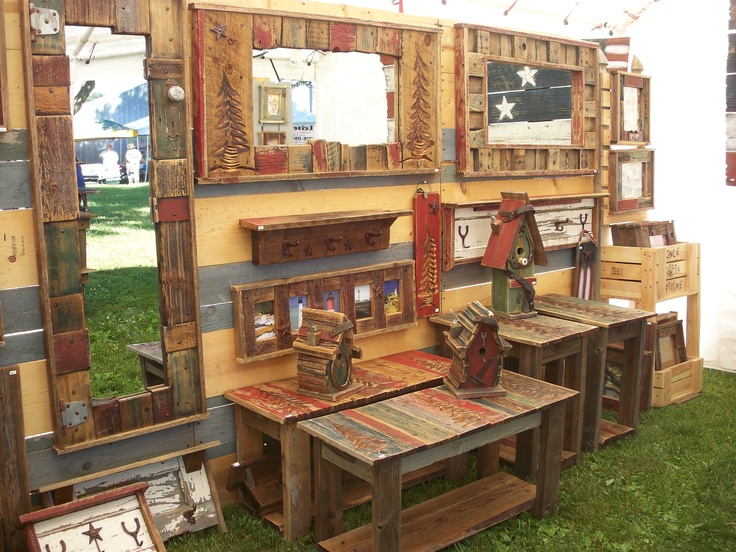 Craft fair barn wood craft ideas pinterest crafts for Wood crafts to sell at craft shows