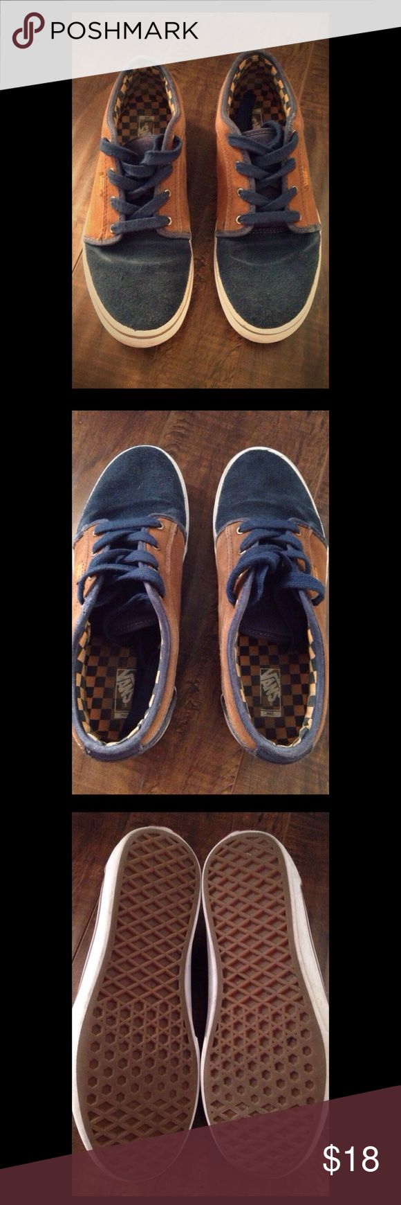 Boys Vans Pro Skate Sneakers Boys Youth size 6 in good condition. Suede like material. Vans Shoes Sneakers