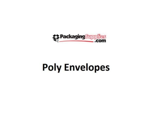POLY ENVELOPES