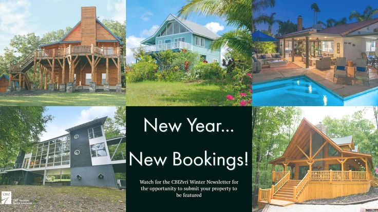 """What a fun quarter we've had sharing YOUR businesses! As amazing as it was for us to share your beautiful properties, we hope it gave your business some new exposure. We wanted to thank all of our customers for participating in our """"Boost Your Bookings"""" Campaign 💞 With 2018 quickly approaching, we're excited to report we'll be taking new submissions 😁 Watch your inbox for the CBIZ Vacation Rental Insurance Program Winter Newsletter for your opportunity to enter your property 👍"""