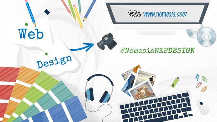 Sai che vuoi creare un sito ma non sai come digitalizzare le tue idee? Scopri cosa può fare per te il team #WebDesign di #Nomesia: http://www.nomesia.com/creazione-siti-internet/