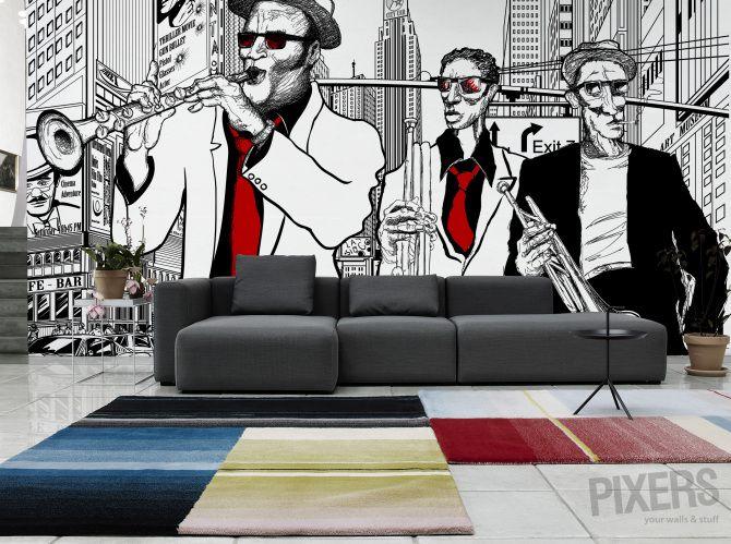 New York Jazz Band O Living Room