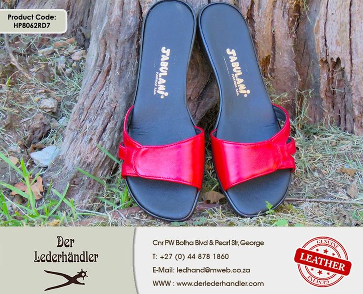 Make a statement with your feet in these lovely red Jabulani sandals from #DerLederhandler. Remember our 20% off sandals promo! For more information, enquire now at http://anapp.link/5v3 (Desktop) or http://anapp.link/5v4 (Mobile) or visit our website: http://asite.link/5we. #genuineleather #sandals E&OE