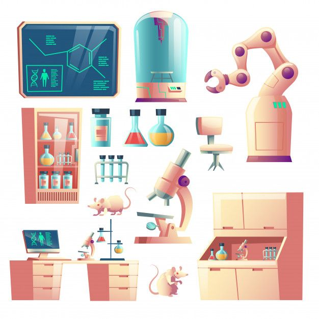 Download Science Genetic Laboratory Equipment Glassware And Tools Cartoon For Free Flask Illustration Cartoon Background Gacha Life Background