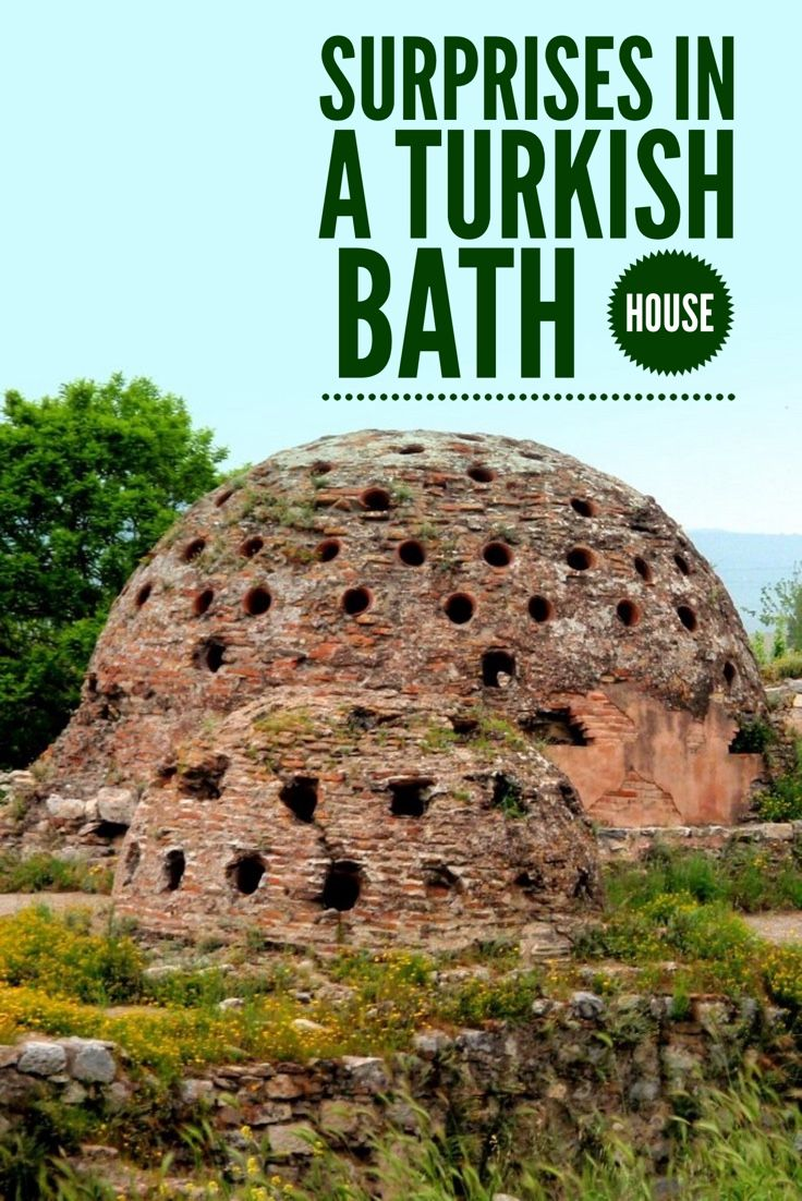 Going to a traditional Turkish bath house can be full of surprises. A humorous look at what awaits when one enters a co-ed hamam  (Turkish bath house).