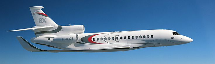Dassault Falcon 8X Private Jet Side View  Three Iconic Engines  Private Jet