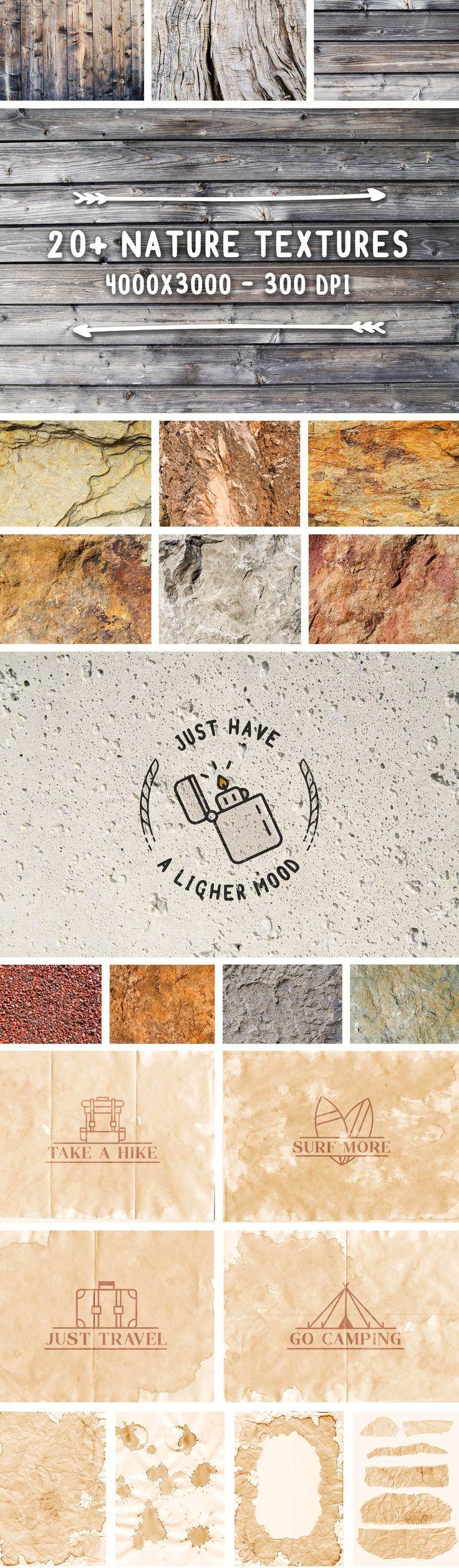 Full #Travel Branding Kit | Nature #textures