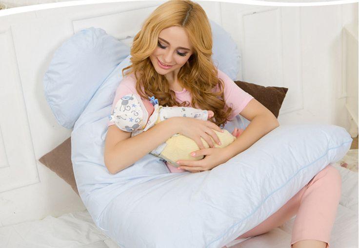 Тело Подушки Спальные Беременности Подушку Материнства Живота Фасонного U-образный Съемный Чехол 130*70 см