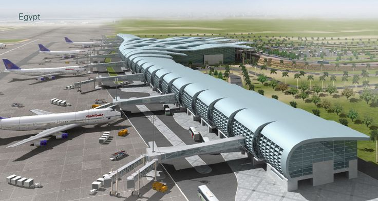 Hurghada International Airport new terminal proposal