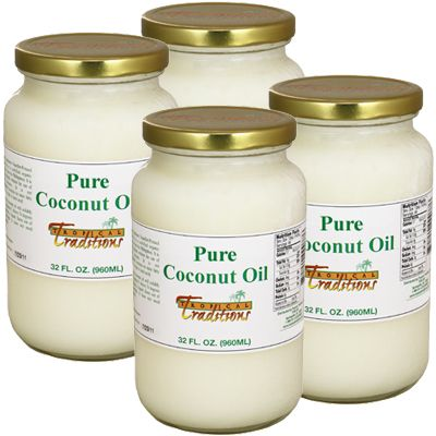 Pure Coconut Oil - 4 Quarts