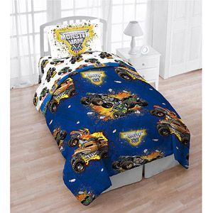 Black Friday Only Monster Jam 4 Piece Reversible Twin