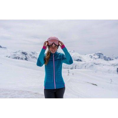 Deportes de Nieve Deportes de Invierno - MID WARM 900 MUJER AZUL WED'ZE - Ropa de esquí mujer