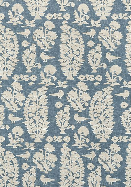 ALLAIRE, Slate Blue, T72594, Collection Chestnut Hill from Thibaut