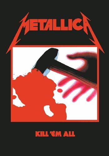 #Drapeau METALLICA - Kill Em All #metallica www.rockagogo.com