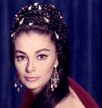Pier Angeli in the film, Sodom and Gomorrah.