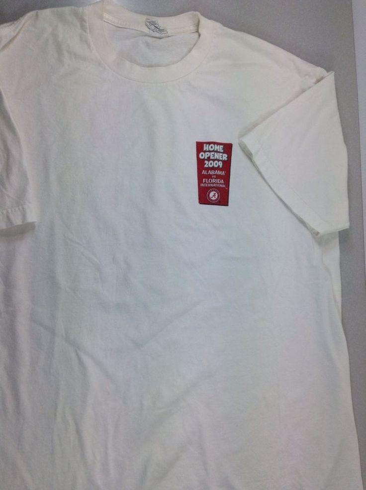 ALABAMA vs FLORIDA INTERNATIONAL T-shirt Size XL Alstyle #Alstyle #ShortSleeve