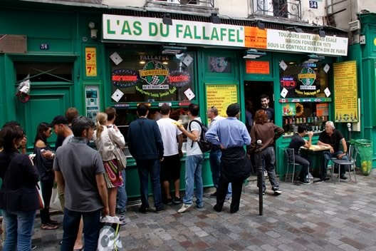 L'as du Fallafel, Le Marais, Paris