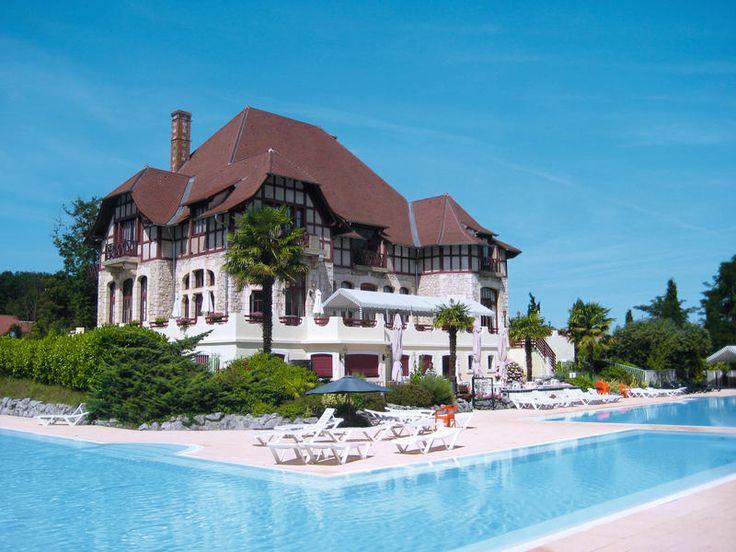 Chateau Cazalares (villa 133), Ariege, Zuid-Frankrijk. Bezocht in september 2012.