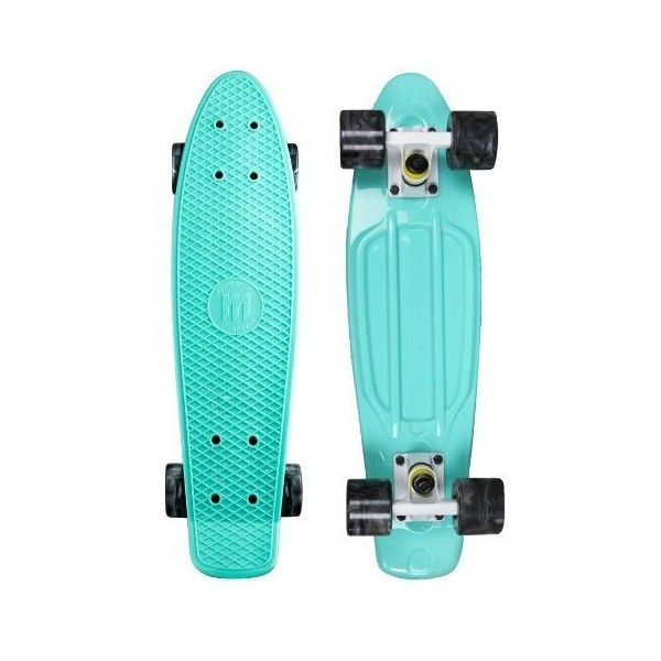 "Mayhem Penny Style Board Celestial Swirl 22"" Plastic Cruiser Board Old... ($55) ❤ liked on Polyvore featuring penny boards, accessories, filler and skate boards"