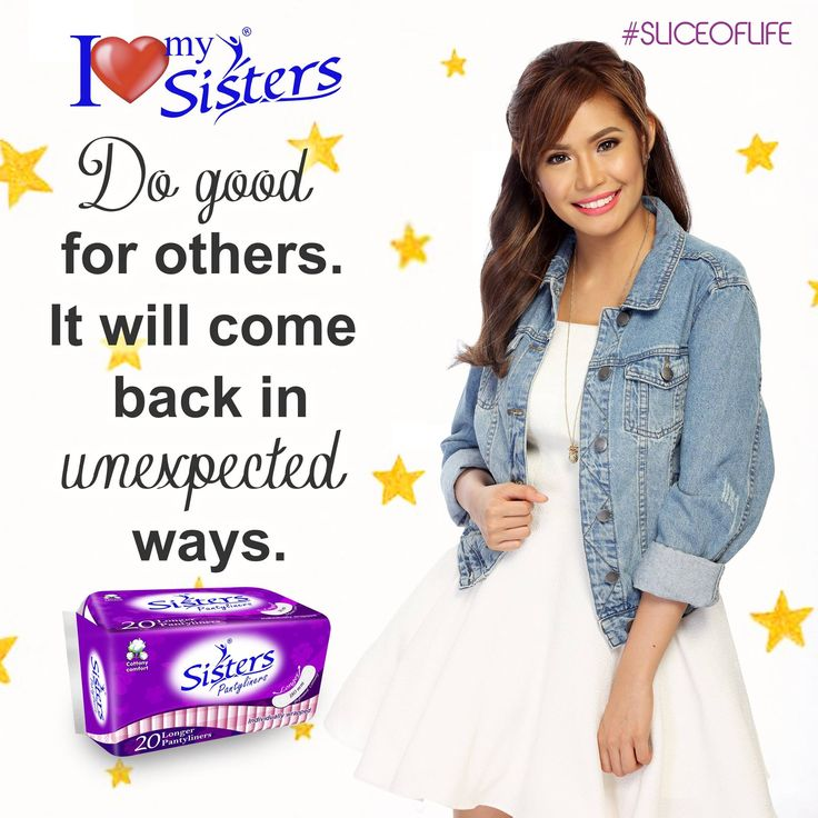 Do Good deeds for others. -Galatians 6:10 ❤ #SistersPH #ILoveMySisters #StandProud #WeAreOneWeAreSisters #SistersSliceOfLife