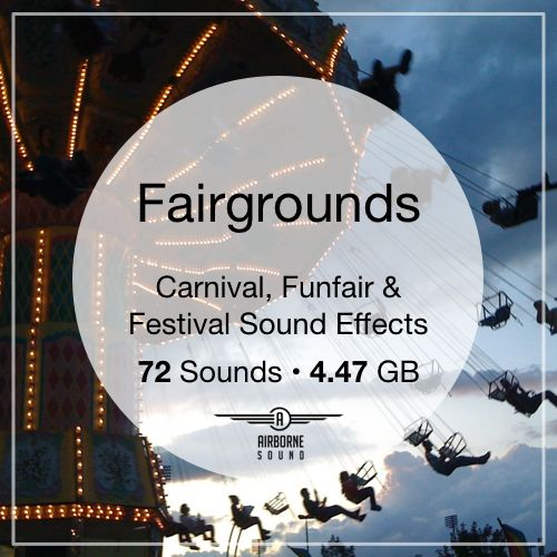 Fairgrounds Sound Effects library: http://www.asoundeffect.com/sound-library/fairgrounds/