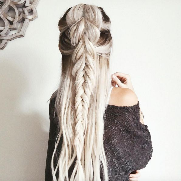 Beste Afbeeldingen Over Braids Top Knots Updos