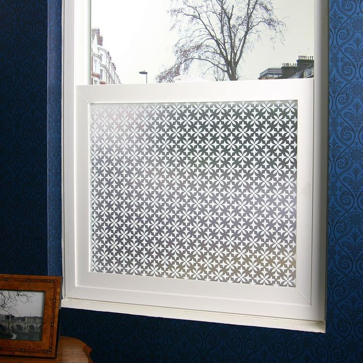 Fleur Privacy Window Film (Adhesive)