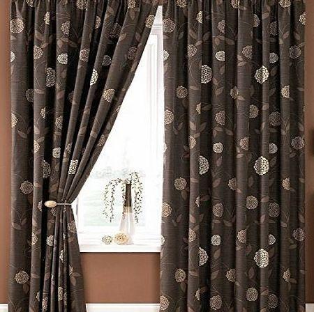 Hallways Ross Floral Lined Curtains 46`` x 90`` Allium Flowers Chocolate Brown Beige Cream Pair Of Ready Made No description (Barcode EAN = 0732773849158). http://www.comparestoreprices.co.uk/december-2016-week-1/hallways-ross-floral-lined-curtains-46-x-90-allium-flowers-chocolate-brown-beige-cream-pair-of-ready-made.asp
