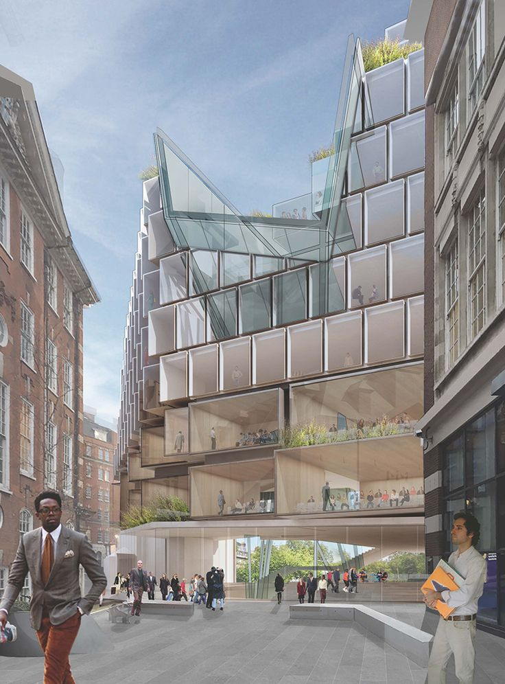 Proposals Revealed For LSEu0027s Paul Marshall Building. Architecture  IllustrationsExterior DesignMarshallsDrawing ...
