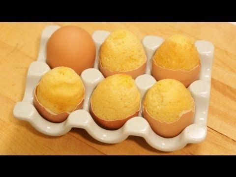 ** Jak upéct velikonoční dortíčky ve vaječné skořápce **