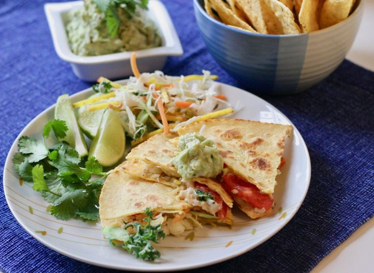 Simple Haddock Quesadillas are a delicious, easy way to get some healthy carbs and protein into you. Change up the fillings and you'll have options galore!