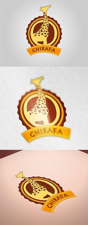 """Logo """"Ghirafa"""""""