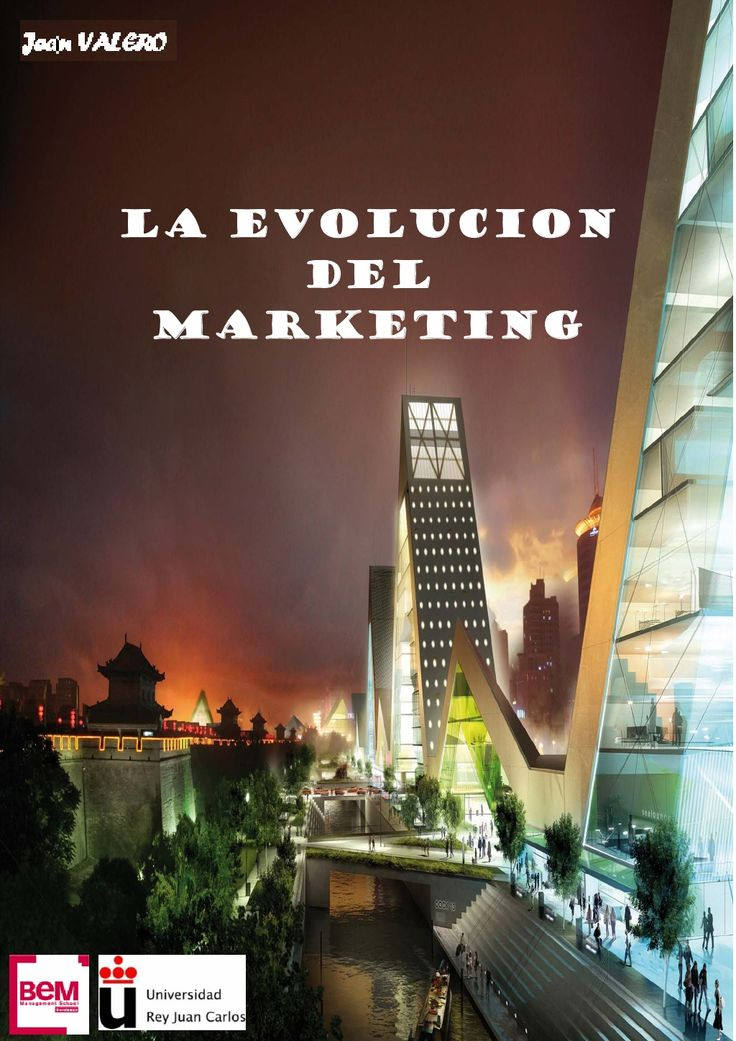 EVOLUCIÓN DEL MARKETING  by Bemaguali   via Slideshare