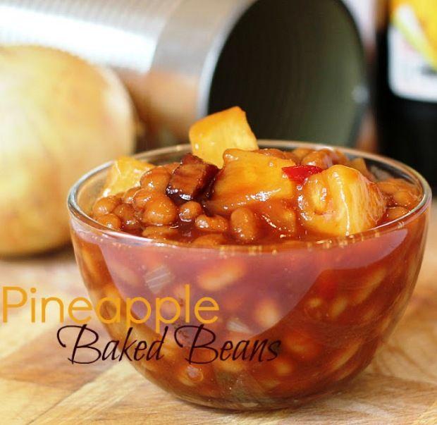 Aloha! Why not try some Hawaiian Recipes? Pineapple Baked Beans hawaiianforyou.com