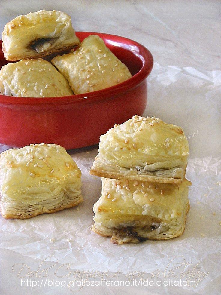 Salatini con crema tartufo e asiago | finger-food