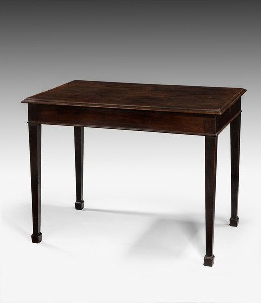 A stylish George III period mahogany centre table - Art and Antiques - Online Galleries Extranet