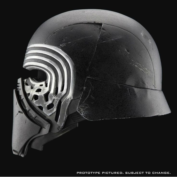 Study Every Crack On Kylo Ren's Helmet With This Amazing New Collectible