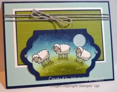 Welcome to the World � Stampin� Up! Card