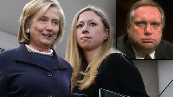 If you do the research you'll find that Bill Clinton is in fact sterile. This is Chelsea's actual father who worked in the law firm with Hillary...Webb Hubble.