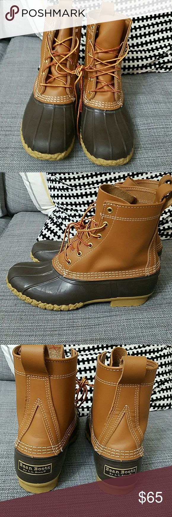 """8"""" LL Bean Boots NWOT LL Bean Boots. Nothing wrong with these at all! Too big for me. Marked as a size 8, but I would size down! Might work for a regular size 9 L.L. Bean Shoes Winter & Rain Boots"""