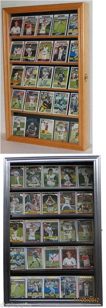 Shadow Boxes 41512: Football Baseball Basketball Hockey Card Display Case Wall Frame - Cc01 -> BUY IT NOW ONLY: $46.95 on eBay!