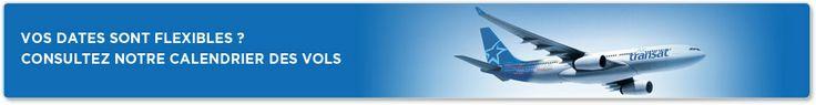 Vols Canada avec Air Transat