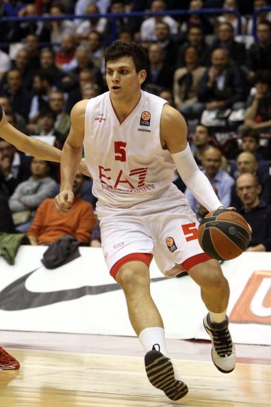 No. 53 - Alessandro Gentile (Selected by Minnesota from Golden State, Traded to Houston)