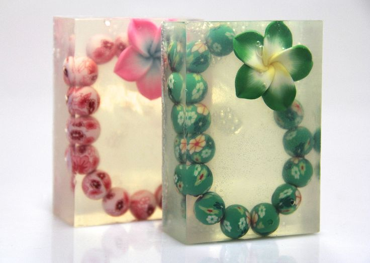 These are called Happy Soap Hawaii... Bracelets made of fimo clay.