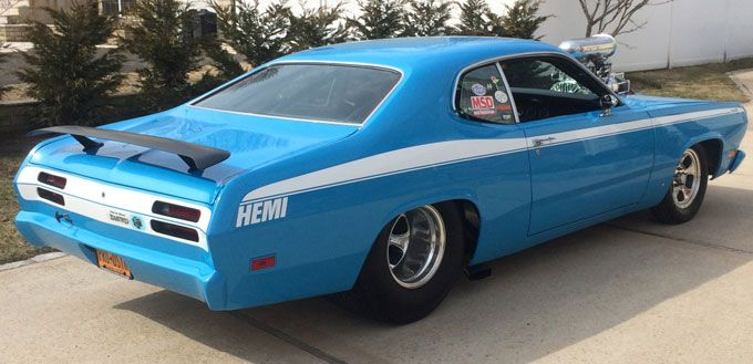 1971 Plymouth Duster Pro Street Maintenance/restoration of old/vintage vehicles: the material for new cogs/casters/gears/pads could be cast polyamide which I (Cast polyamide) can produce. My contact: tatjana.alic@windowslive.com